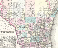 1855_Colton_Map_of_Wisconsin_-_Geographicus_-_Wisconsin-colton-1855_240x200
